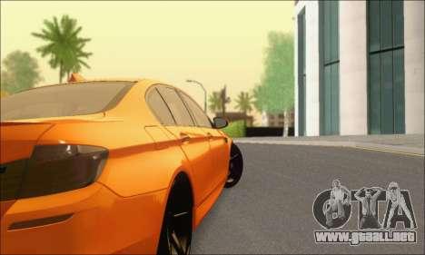 BMW M5 Vossen para la visión correcta GTA San Andreas