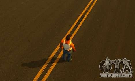 ENBSeries by AVATAR V2 para GTA San Andreas sucesivamente de pantalla