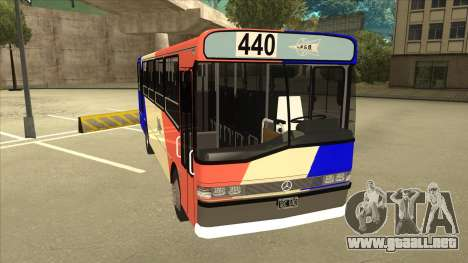 Mercedes-Benz OHL-1320 Linea 440 para GTA San Andreas left