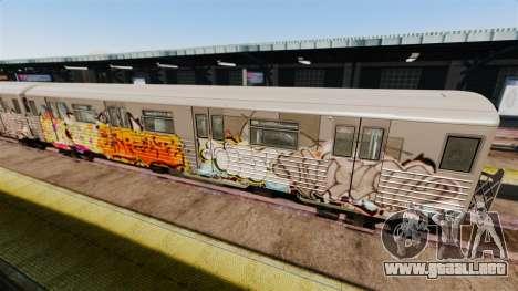 Nuevo graffiti de metro para v4 para GTA 4 segundos de pantalla