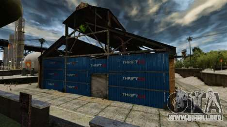 Una base defensiva para GTA 4 tercera pantalla