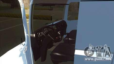 Volkswagen Constellation 19.320 Titan para GTA San Andreas vista hacia atrás
