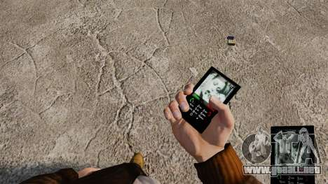 Temas de Rock gótico para su teléfono para GTA 4 sexto de pantalla
