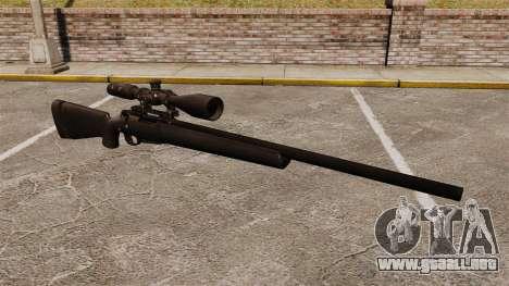 El rifle de francotirador M24 para GTA 4