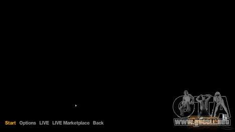 Menú y arranque imágenes al estilo de GTA V para GTA 4 quinta pantalla