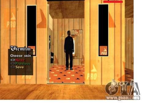 Mafia rusa Pack la piel para GTA San Andreas sucesivamente de pantalla