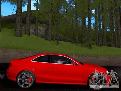 Audi RS5 2012 para la visión correcta GTA San Andreas