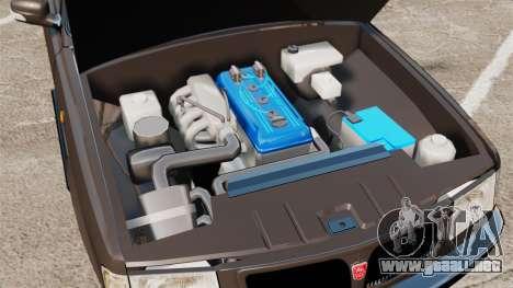 GAZ-3110 Pickup para GTA 4 vista interior