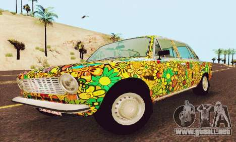 VAZ 21011 Hippie para GTA San Andreas left