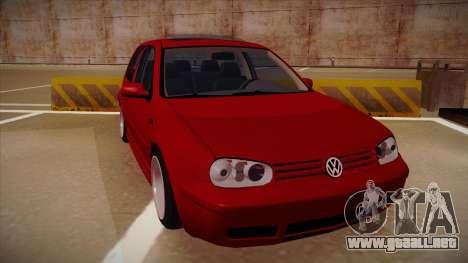 Volkswagen Golf Mk4 Euro para GTA San Andreas left