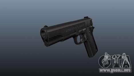 Pistola M1911 v1 para GTA 4