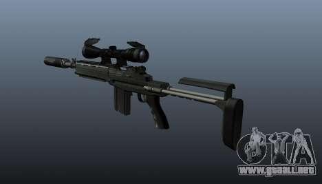 Fusil automático M14 EBR v1 para GTA 4 segundos de pantalla