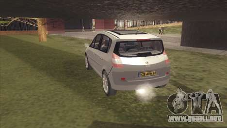 Renault Scenic 2 para GTA San Andreas left