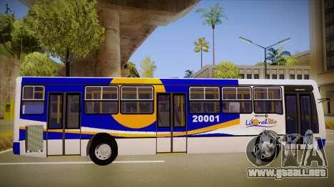 Caio Millenium para GTA San Andreas vista posterior izquierda