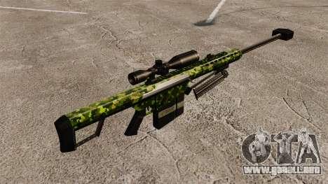 El v4 de rifle de francotirador Barrett M82 para GTA 4 segundos de pantalla