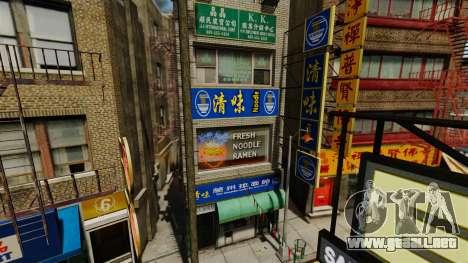Tiendas reales v2 para GTA 4 segundos de pantalla