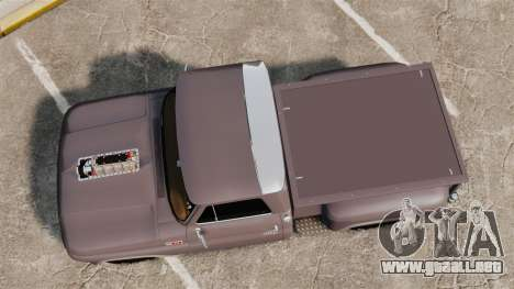 Chevrolet C-10 Stepside v3 para GTA 4 visión correcta