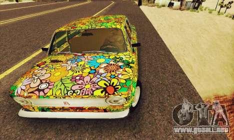 VAZ 21011 Hippie para la visión correcta GTA San Andreas