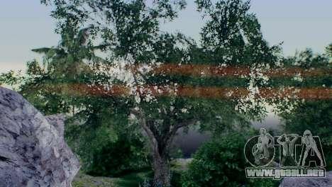 Caligraphic ENB v1.0 para GTA San Andreas segunda pantalla