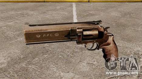 Revolver Dan Wesson 357 PPC para GTA 4 tercera pantalla