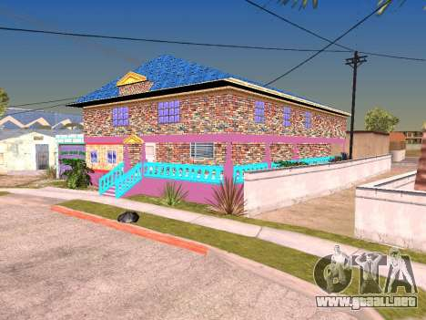 Textura Karl House para GTA San Andreas