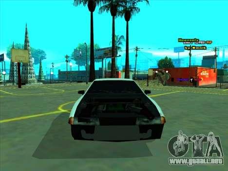 Drift Elegy by zhenya2003 para GTA San Andreas vista hacia atrás