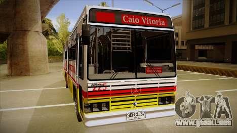 Caio Vitoria MB OF 1318 Metropolitana para GTA San Andreas vista posterior izquierda