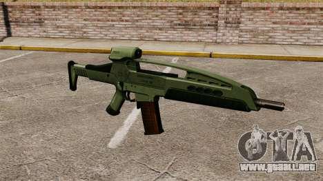 HK XM8 assault rifle v1 para GTA 4