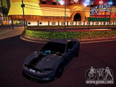 ENB by DjBeast for SA:MP Light Version para GTA San Andreas octavo de pantalla