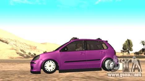 Volkswagen German Polo para la visión correcta GTA San Andreas