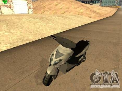 Piaggio NRG para GTA San Andreas left