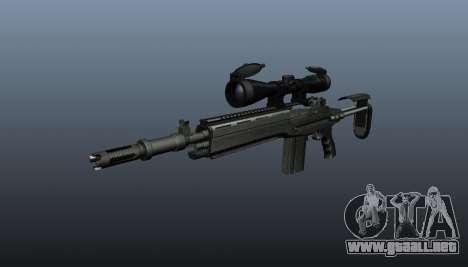 Fusil automático M14 EBR v2 para GTA 4