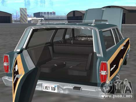 Ford Country Squire 1966 para visión interna GTA San Andreas
