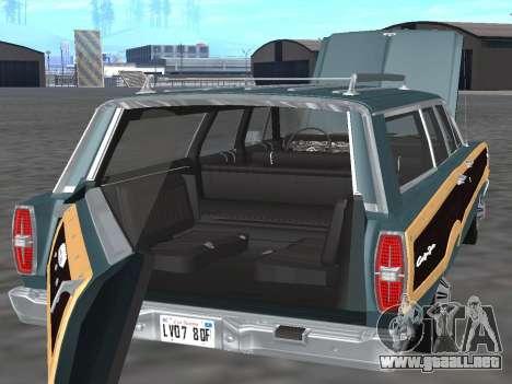 Ford Country Squire 1966 para visión interna GTA San Andreas