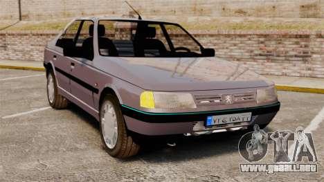 Peugeot 405 GLX para GTA 4