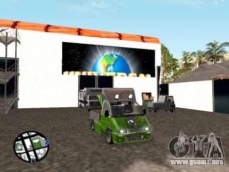 Gacela grúa para la visión correcta GTA San Andreas