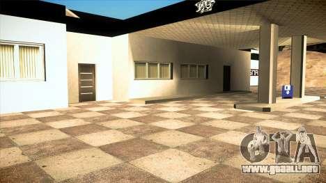 El garaje en Doherty BPAN v1.1 para GTA San Andreas sexta pantalla
