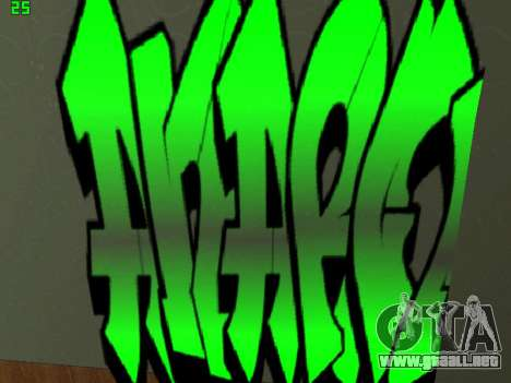 Graffity mod para GTA San Andreas séptima pantalla