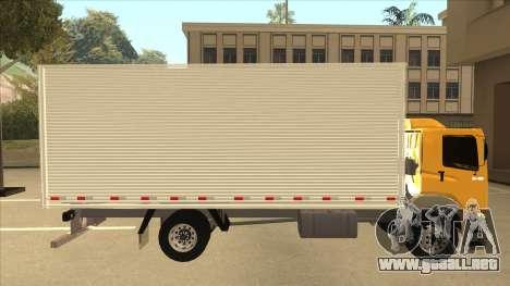 Volkswagen Constellation 13.180 para GTA San Andreas vista posterior izquierda
