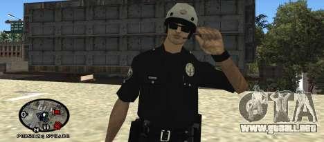 Los Angeles Air Support Division Pilot para GTA San Andreas segunda pantalla