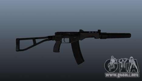 SR-3 Vikhr subfusil ametrallador v3 para GTA 4 tercera pantalla