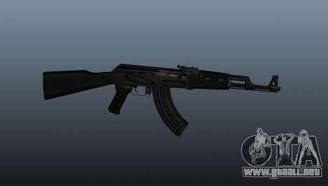 AK-47 v1 para GTA 4 tercera pantalla