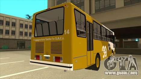 Mercedes-Benz OHL-1320 Linea 39 para la visión correcta GTA San Andreas