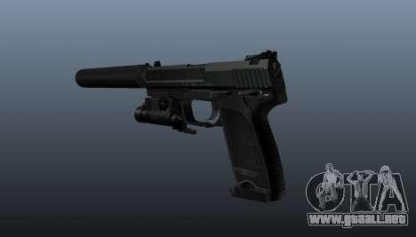 Pistola HK USP 45 para GTA 4 segundos de pantalla