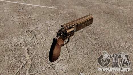 Revolver Dan Wesson 357 PPC para GTA 4 segundos de pantalla