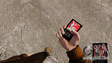 Temas para las marcas de comida rápida de teléfo para GTA 4 segundos de pantalla
