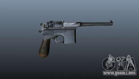 V1 pistola Mauser para GTA 4 tercera pantalla