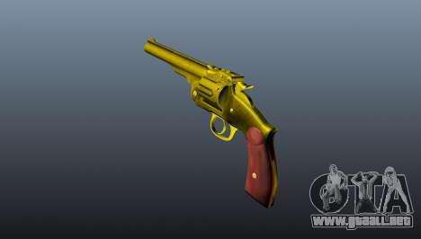 Schofield revolver v2 para GTA 4 segundos de pantalla