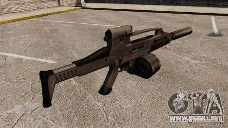 HK XM8 assault rifle v2 para GTA 4 segundos de pantalla