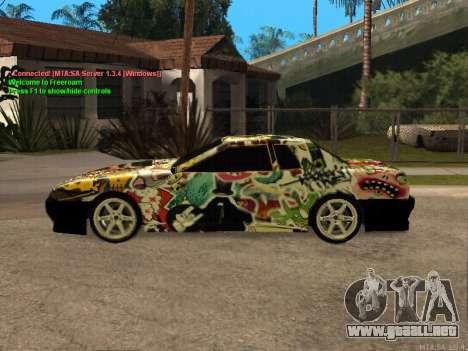 New Elegy para la vista superior GTA San Andreas